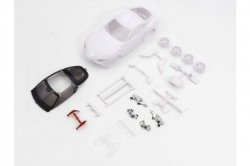 MZN202 Toyota GR Supra White Body Set w/Wheel