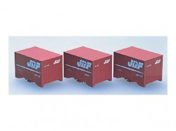 J.R. Container Type 19B 5t Container 3pcs