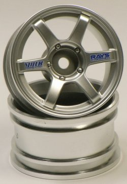 SPA-316 mini VOLK Racing TE37 Matte Silver 2pcs 2mm Offset