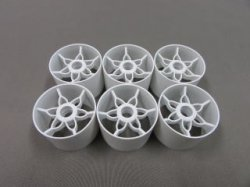 TN-983 YRX12 Front Wheels White 6pcs