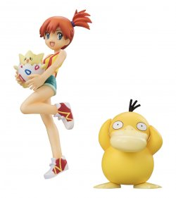 G.E.M. Series Pokemon Misty, Togepi, and Psyd