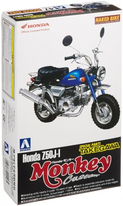 1/12 Honda Monkey Custom Takegawa