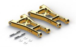 AC340G TA05 Aluminium Rear Lower Arms (Gold)