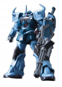 HGUC 117 MS-07B-3 GOUF CUSTOM