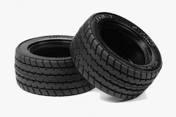 Tamiya 60D Super Grip Radial Tires - (M-Chassis) 1pr