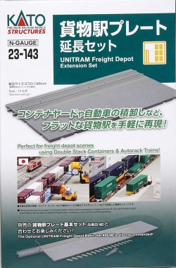 23-143 UNITRAM Freight Depot Extension Set (G
