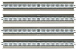 Fine Track Overhead PC Tracks HS280-PC (F) (Set of 4)