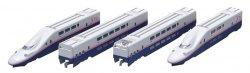 J.R. Series E4 Joetsu SHINKANSEN (New Color)