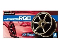 Advan Racing RGIII 19inch - 1/24 scale wheels