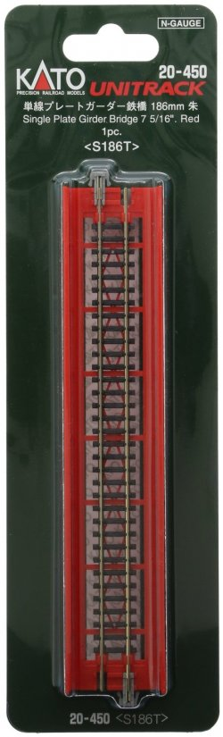 "20-450 186mm 7-5/16"" Plate Girder Bridge, Red"