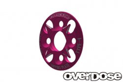 OD1659 Spur Gear Support Plate Type 4 (Pink)