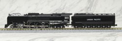 12605-2 UP FEF-3 Steam Locomotive #844 Black