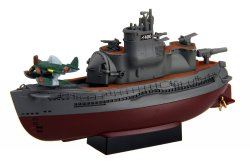 Chibimaru Ship I-400 Submarine 2 Set