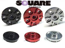 SCW-12R CW-01 Aluminum Rear Wheel Hub Red