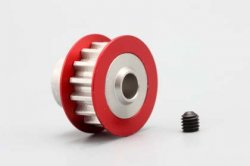 Front/Rear Drive Pully (Red) for DRB 15T
