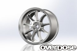 OD1796 WORK EMOTION D9R (Matte Chrome/OFF+3)