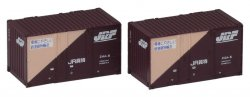 J.R.. Container Type 24A (2 Pieces)