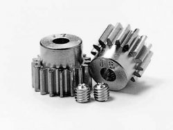 RC AV Pinion Set 16/17T