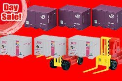 DAY SALE! Container & Fork Lift Bundle!