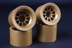 54527 F104 Mesh Wheel Set - Gold