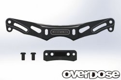 OD2159 Height Adjustment Aluminum Rear Shock Tower Black