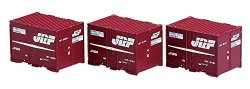 J.R. Container Type 19F 5t Container 3pcs. Wi