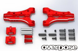OD1710 Aluminium Front Sus Arm for Divall / Vacula RED
