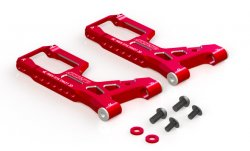 STR290R Drift Package Aluminium Front Suspension Arm (Red)