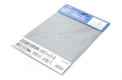 Plastic Plate (Gray) Graduated (White) 0.3mm (2pcs)