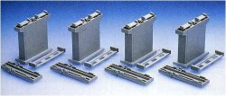 Concrete Piers for Double Track Set of 4