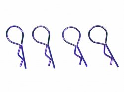 SGF-02P Body Pins Large Head Purple 4pcs