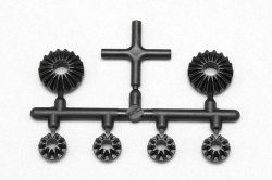 B9-503GP Molded Bevel Gear Set (with cross pi