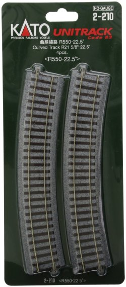 "2-210 21-5/8"" Radius Curve 22.5-Degree (4)"