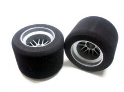 Z9112 F1 Rear OMEGA Wide Shaped Sponge Tire