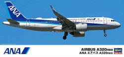 ANA Airbus A320neo (1/200 Scale Plastic Model