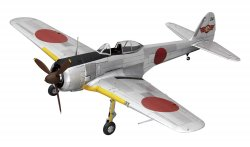 Nakajima ki-43-2 (Oscar) Early/Late Version