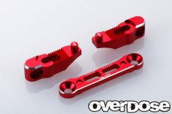 OD1941 Adjustable Aluminium Suspension Mount Set for XEX Red