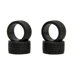 MZW38-20 Mini-Z Racing Radial Wide Tires (Rear) 20deg
