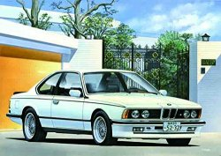 Real Sports Car BMW M635Csi