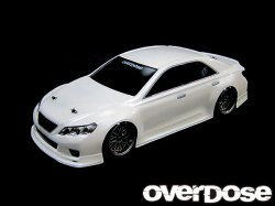 OD1139 GRX130 Toyota Mark X ST-GARAGE ver. Clear body