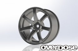 OD1793 WORK EMOTION XT7 (Matte Chrome / OFF + 3)