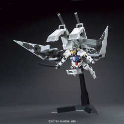 HG Gundam Barbatos & Long Distance Transport Booster Kutan San
