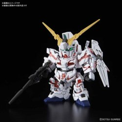 SD GUNDAM CROSS SILHOUETTE UNICORN GUNDAM (DESTROY
