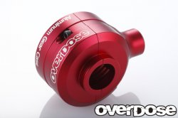 OD2003 Aluminium Gear Case Set (For Divall / RED)