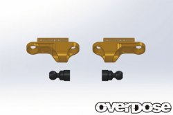 OD2265 Aluminium Shock Adjust Blck Type-2 Gold