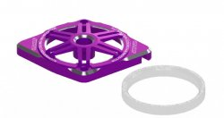 STR226P Illumination Fan Protector B 30mm (Purple)