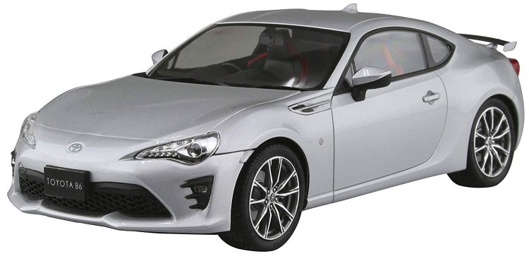 Toyota ZN6 Toyota86 `16 (Ice Silver Metallic) - Click Image to Close