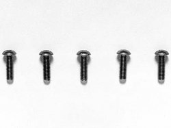 RC 3x10mm Hex Socket Screw - 5pcs Titanium