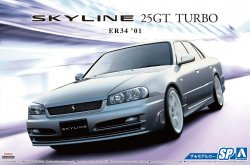 Nissan BNR34 Skyline 25GT Turbo `01 Custom Wh