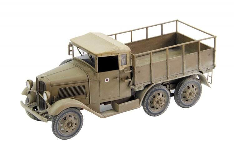 IJA Type94 6-Wheel Cargo Carrier -Canvastop- - Click Image to Close